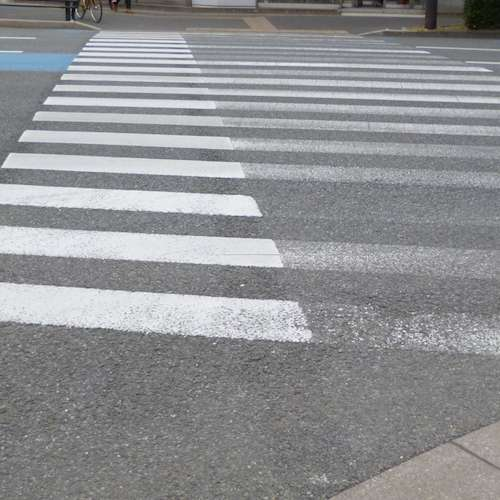 塗り足し歩道