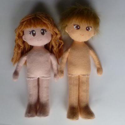 フェルト人形 ボディ